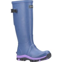 kengät Naiset Kumisaappaat Cotswold  Blue