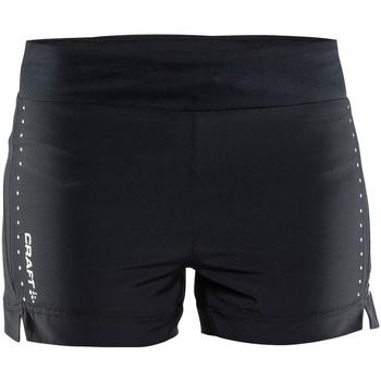 vaatteet Naiset Shortsit / Bermuda-shortsit Craft CT56F Black