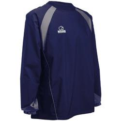 vaatteet T-paidat pitkillä hihoilla Rhino RH017 Navy/Grey