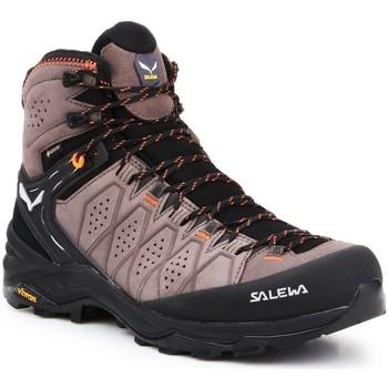 kengät Miehet Vaelluskengät Salewa MS Alp Trainer 2 Mid GTX 61382-7512 black, brown