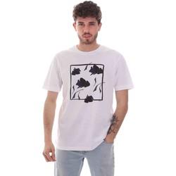 vaatteet Miehet Lyhythihainen t-paita Sseinse TE1818SS Valkoinen
