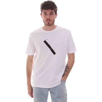 vaatteet Miehet Lyhythihainen t-paita Sseinse TE1820SS Valkoinen