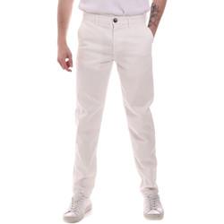 vaatteet Miehet Chino-housut / Porkkanahousut Sseinse PSE699SS Valkoinen
