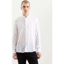 vaatteet Miehet Pitkähihainen paitapusero Refrigiwear RM0C10100LI9110 Valkoinen