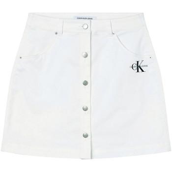 vaatteet Naiset Hame Calvin Klein Jeans J20J215720 Valkoinen