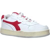 kengät Naiset Matalavartiset tennarit Diadora 501175755 Valkoinen