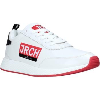 kengät Miehet Matalavartiset tennarit John Richmond 10131/CP A Valkoinen