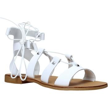 kengät Naiset Sandaalit ja avokkaat Keys K-4880 Valkoinen