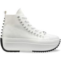 kengät Naiset Korkeavartiset tennarit Cult CLW325900 Valkoinen