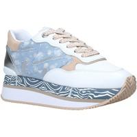 kengät Naiset Matalavartiset tennarit Manila Grace S659LM Valkoinen