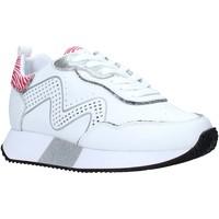 kengät Naiset Matalavartiset tennarit Manila Grace S673LU Valkoinen