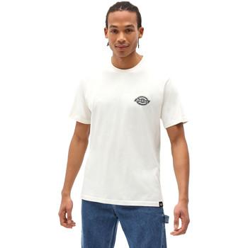 vaatteet Miehet Lyhythihainen t-paita Dickies DK0A4XENECR1 Valkoinen
