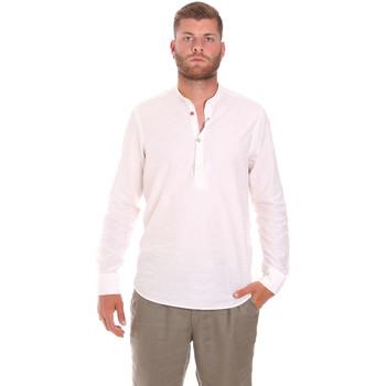 vaatteet Miehet Pitkähihainen paitapusero Sseinse CE611SS Valkoinen