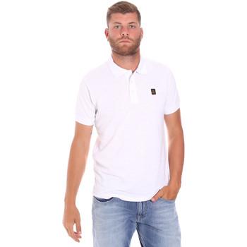 vaatteet Miehet Lyhythihainen poolopaita Refrigiwear RM0T25900PQ9002 Valkoinen