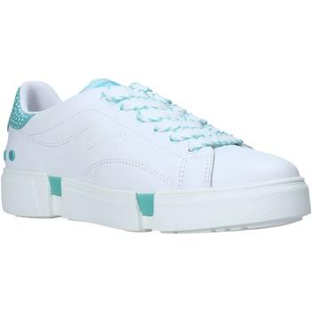 kengät Naiset Matalavartiset tennarit Manila Grace S646LU Valkoinen