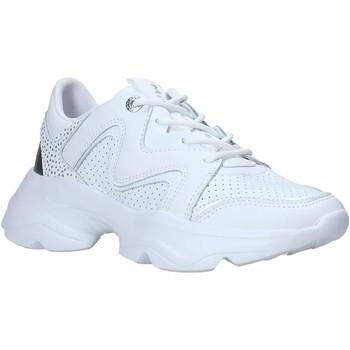 kengät Naiset Matalavartiset tennarit Manila Grace S667LU Valkoinen