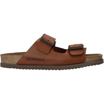 kengät Miehet Sandaalit Mephisto P5113700 Ruskea