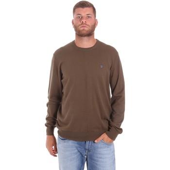 vaatteet Miehet Neulepusero Lumberjack CM96341 007EU Ruskea