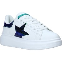 kengät Naiset Matalavartiset tennarit Shop Art SA050110 Valkoinen