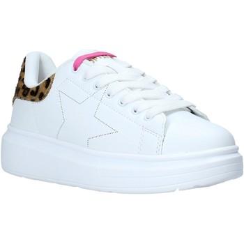 kengät Lapset Matalavartiset tennarit Shop Art SA050307 Valkoinen