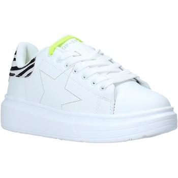kengät Lapset Matalavartiset tennarit Shop Art SA050308 Valkoinen