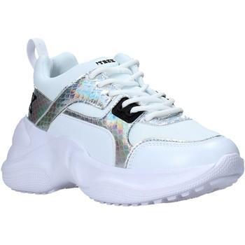 kengät Naiset Matalavartiset tennarit Pyrex PY050123 Valkoinen