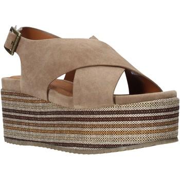 kengät Naiset Sandaalit ja avokkaat Onyx S20-SOX753 Ruskea