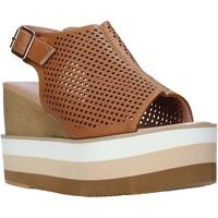 kengät Naiset Sandaalit ja avokkaat Onyx S20-SOX757 Ruskea