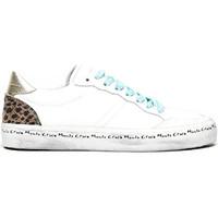 kengät Naiset Matalavartiset tennarit Manila Grace S640CU Valkoinen
