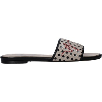kengät Naiset Sandaalit Manila Grace S622LP Beige