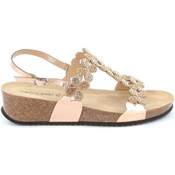 kengät Naiset Sandaalit ja avokkaat Grunland SB1595 Vaaleanpunainen