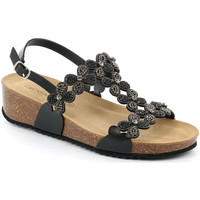 kengät Naiset Sandaalit ja avokkaat Grunland SB1595 Musta