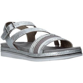 kengät Naiset Sandaalit ja avokkaat Marco Tozzi 2-2-28627-26 Hopea