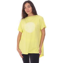 vaatteet Naiset Lyhythihainen t-paita Colmar 8606 6SH Vihreä