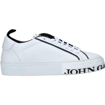 kengät Miehet Matalavartiset tennarit John Galliano 11012/CP C Valkoinen