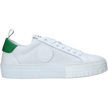 kengät Miehet Tennarit John Galliano 11010/CP A Valkoinen