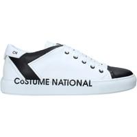 kengät Miehet Korkeavartiset tennarit Costume National 10426/CP B Valkoinen