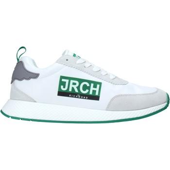 kengät Miehet Matalavartiset tennarit John Richmond 10133/CP A Valkoinen