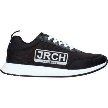 kengät Miehet Matalavartiset tennarit John Richmond 10132/CP B Musta