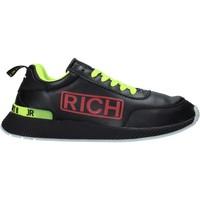 kengät Miehet Tennarit John Richmond 201 A Musta