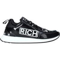 kengät Miehet Tennarit John Richmond 203 A Musta