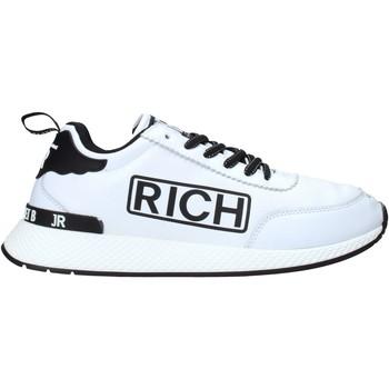 kengät Miehet Matalavartiset tennarit John Richmond 204 C Valkoinen