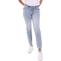 vaatteet Naiset Suorat farkut Gaudi 111BD26011 Sininen