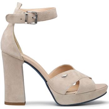 kengät Naiset Sandaalit ja avokkaat Alberto Guardiani AGW002700 Beige