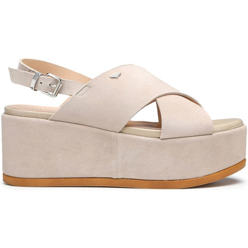 kengät Naiset Sandaalit ja avokkaat Alberto Guardiani AGW003000 Beige