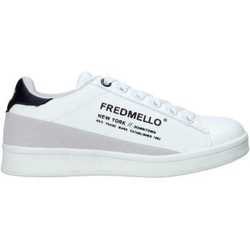 kengät Lapset Matalavartiset tennarit Fred Mello S20-SFK313 Valkoinen