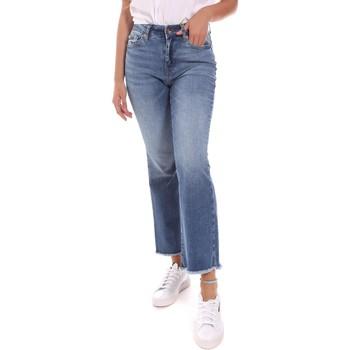 vaatteet Naiset Suorat farkut Gaudi 111BD26007 Sininen