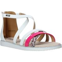 kengät Tytöt Sandaalit ja avokkaat Miss Sixty S20-SMS768 Valkoinen
