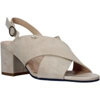 kengät Naiset Sandaalit ja avokkaat Alberto Guardiani AGW003400 Beige