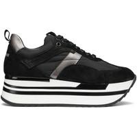 kengät Naiset Matalavartiset tennarit Alberto Guardiani AGW004303 Musta